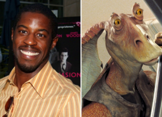 ahmed best, l'attore che ha interpretato jar jar binks in star wars