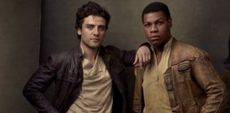 poe e finn in star wars episodio IX
