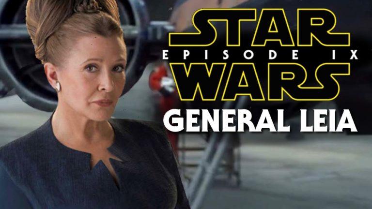 Episodio IX: novità sul cast, ci sarà anche Carrie Fisher