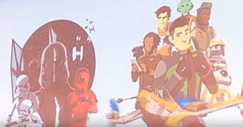 prima immagine di resistance serie animata star wars