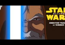 trailer fan made di star wars in stile anime