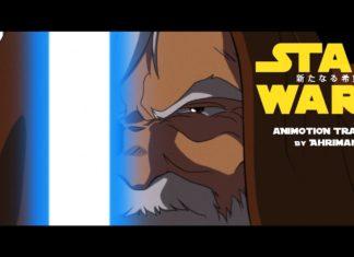 trailer fan made di star wars in stile anime
