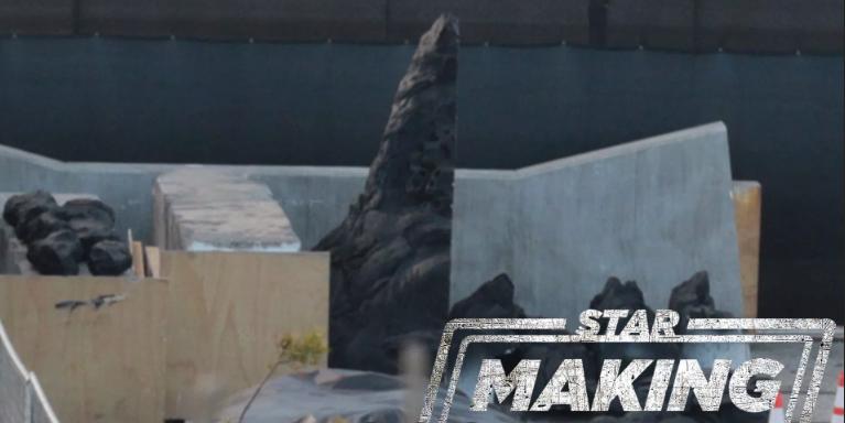 set della serie live action di star wars