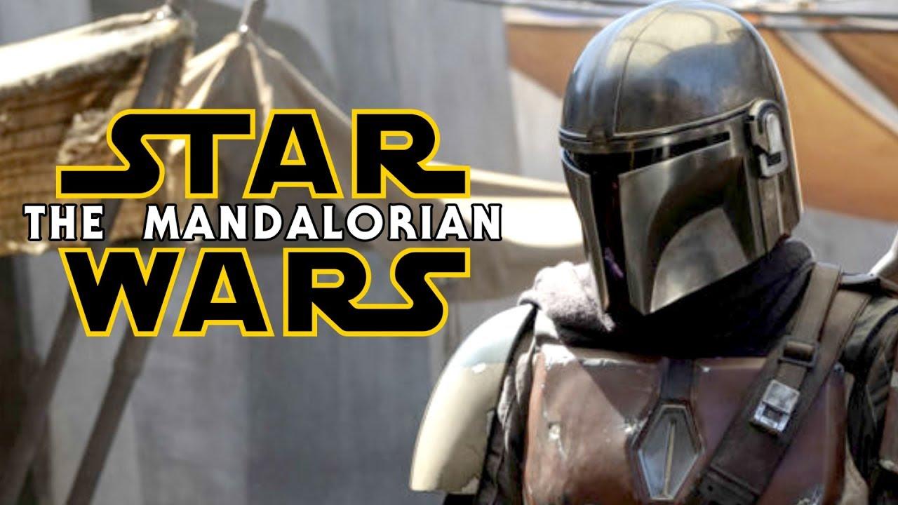 furto sul set di star wars the mandalorian