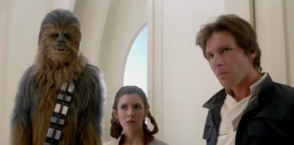 carrie fisher e harrison ford ubriachi in star wars episodio V
