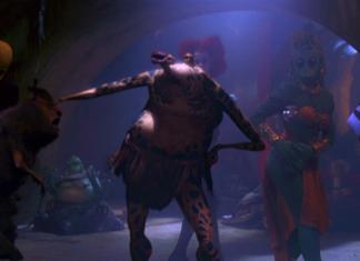 modifiche alla scena del palazzo di jabba episodio vi