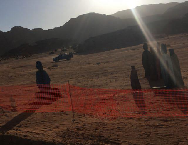 foto dal set di star wars episodio ix in giordania