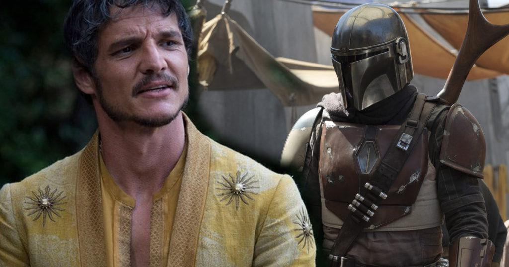 pedro pascal nella serie live action di star wars the mandalorian interpreta Mando
