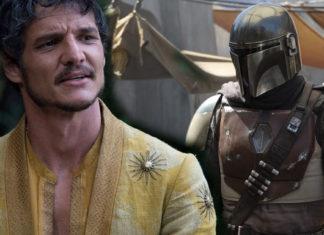 pedro pascal nella serie live action di star wars the mandalorian