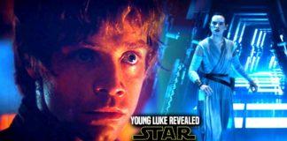 scena tagliata di luke da giovane in star wars episodio vii