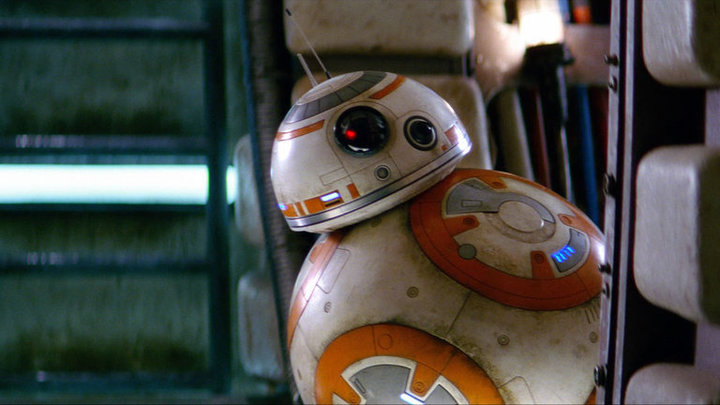 bb-8 in star wars episodio ix