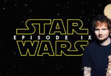 cameo di ed sheeran in star wars episodio ix