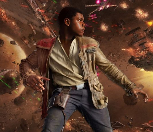 john boyega descrive una scena di episodio ix