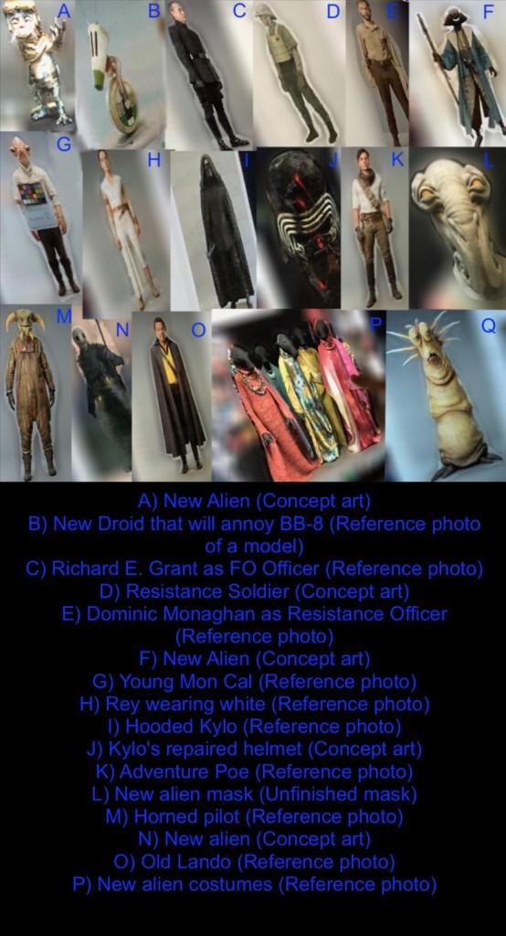 leak di foto star wars episodio ix