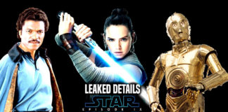 rumors su rey lando e c3po in star wars episodio ix