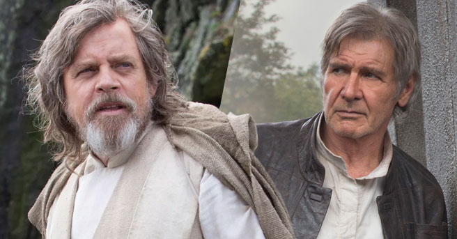 ipotetica reunion tra han solo e luke skywalker in star wars