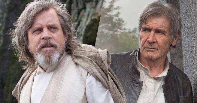 ipotetica reunion tra han solo e luke skywalker in star wars
