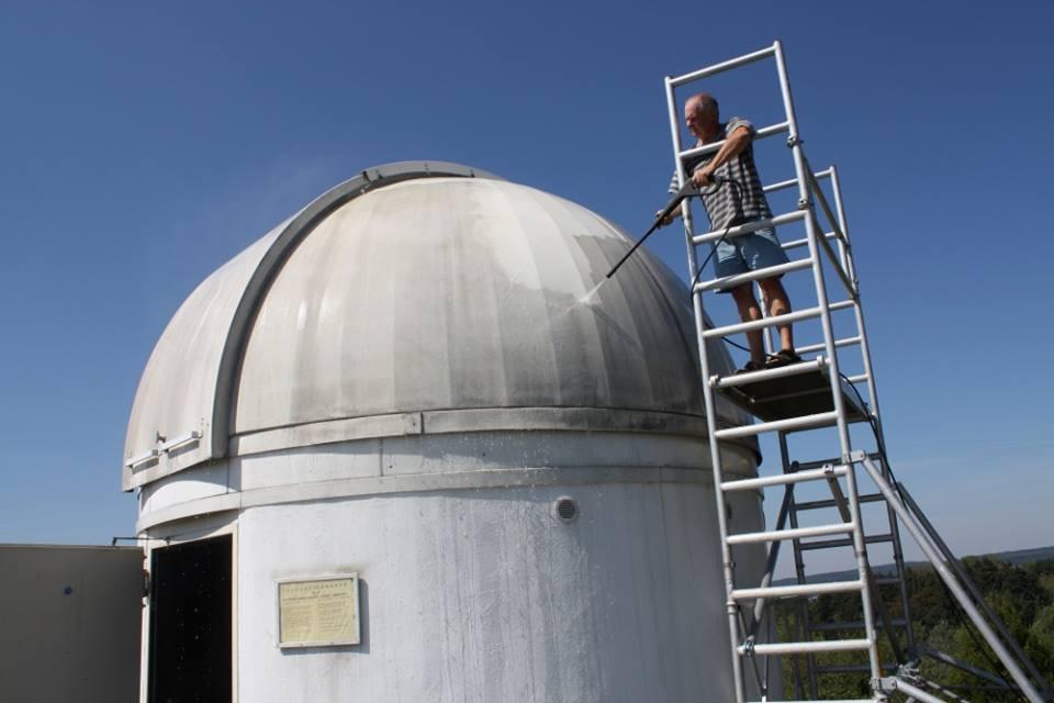 osservatorio r2-d2 star wars in germania
