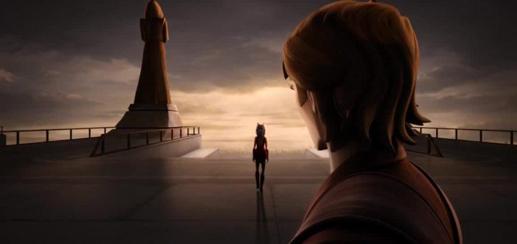 Nel trailer di The Clone Wars vediamo Ashoka