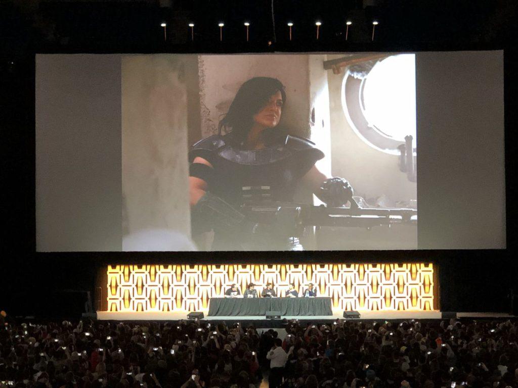 Il personaggio di Gina Carano in The Mandalorian