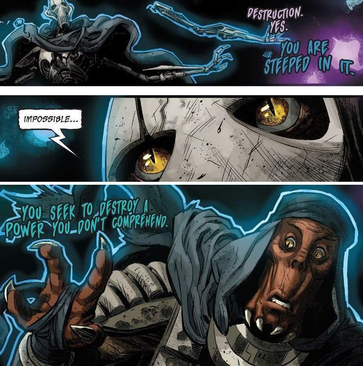 vero volto del generale grievous fumetti star wars