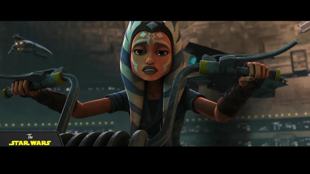 Il trailer di The Clone Wars si apre con Ashoka a Coruscant