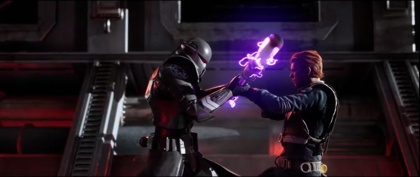 jedi: fallen order trailer combattimento nemico gioco