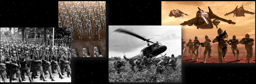 star wars fantascienza parallelismo soldati cloni