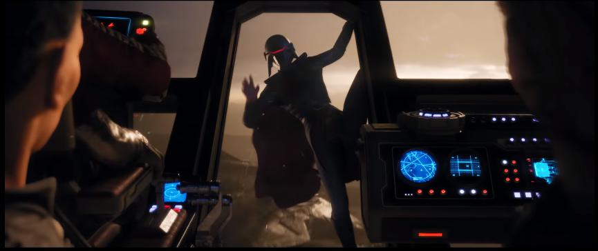 jedi: fallen order trailer villain salto navetta