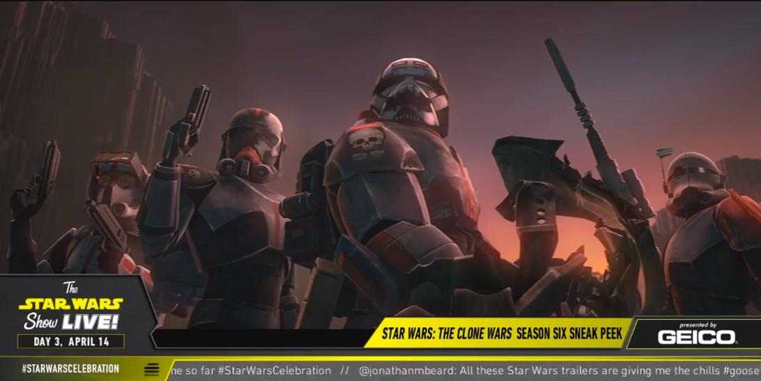 La nuova stagione di The Clone Wars vedrà anche la Bad Batch in azione