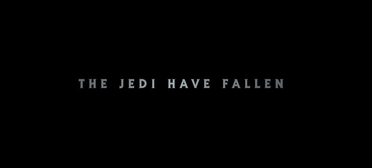 jedi: fallen order trailer primo motto the jedi have fallen