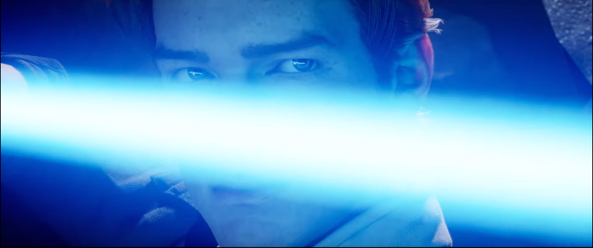 jedi: fallen order trailer Cal spada laser trust only in the force