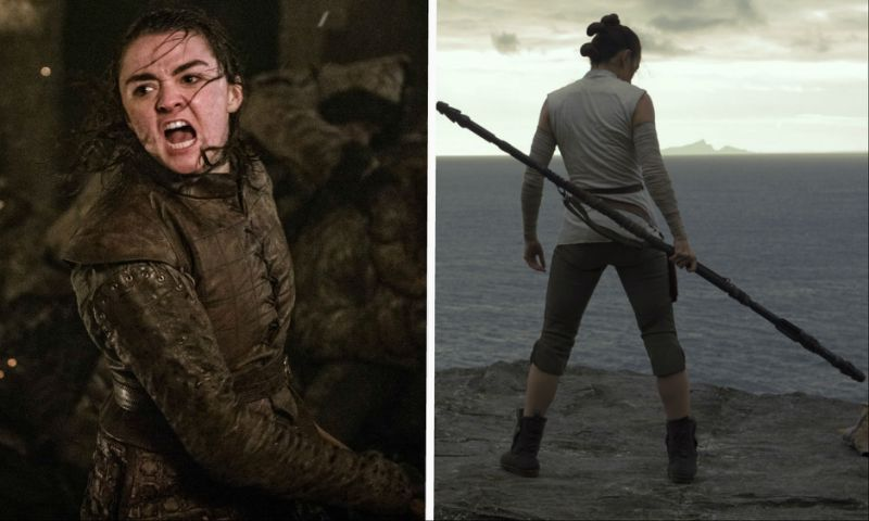Le due protagonisti femminili di Game of Thrones e Star Wars