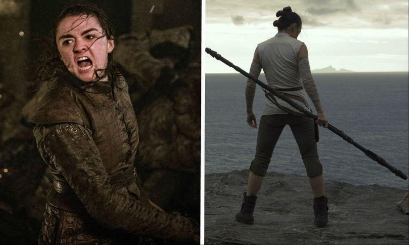 Le due protagonisti femminili di Game of Thrones e Star Wars