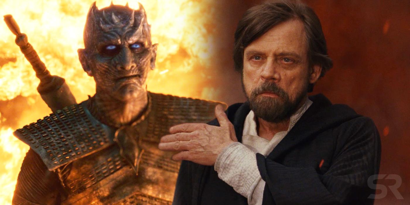 In Game of Thrones il villain The Night King sopravvive al fuoco del drago