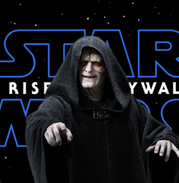 palpatine in the rise of skywalker star wars