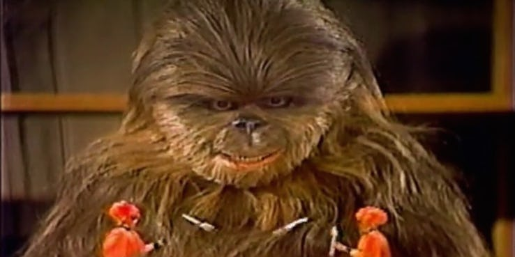 chewbecca figlio star wars holiday special