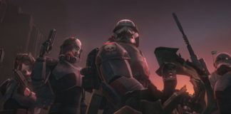 La Bad Batch in azione nella settima stagione di The Clone Wars