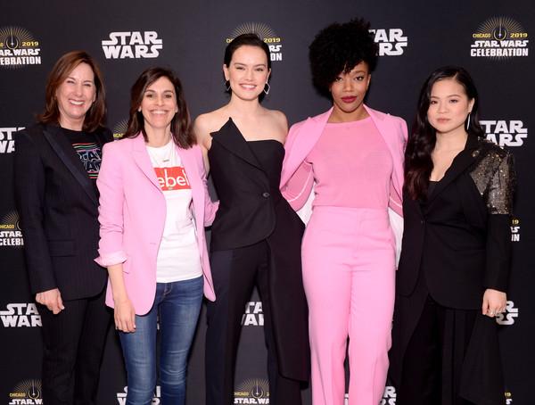 Michelle Rejwan, nuova supervisore di Star Wars, alla Star Wars Celebration di quest'anno