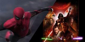 Spider-Man: Far From Home e scena tagliata di Star Wars