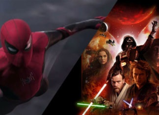 Spider-Man: Far From Home e scena tagliata di Star Wars