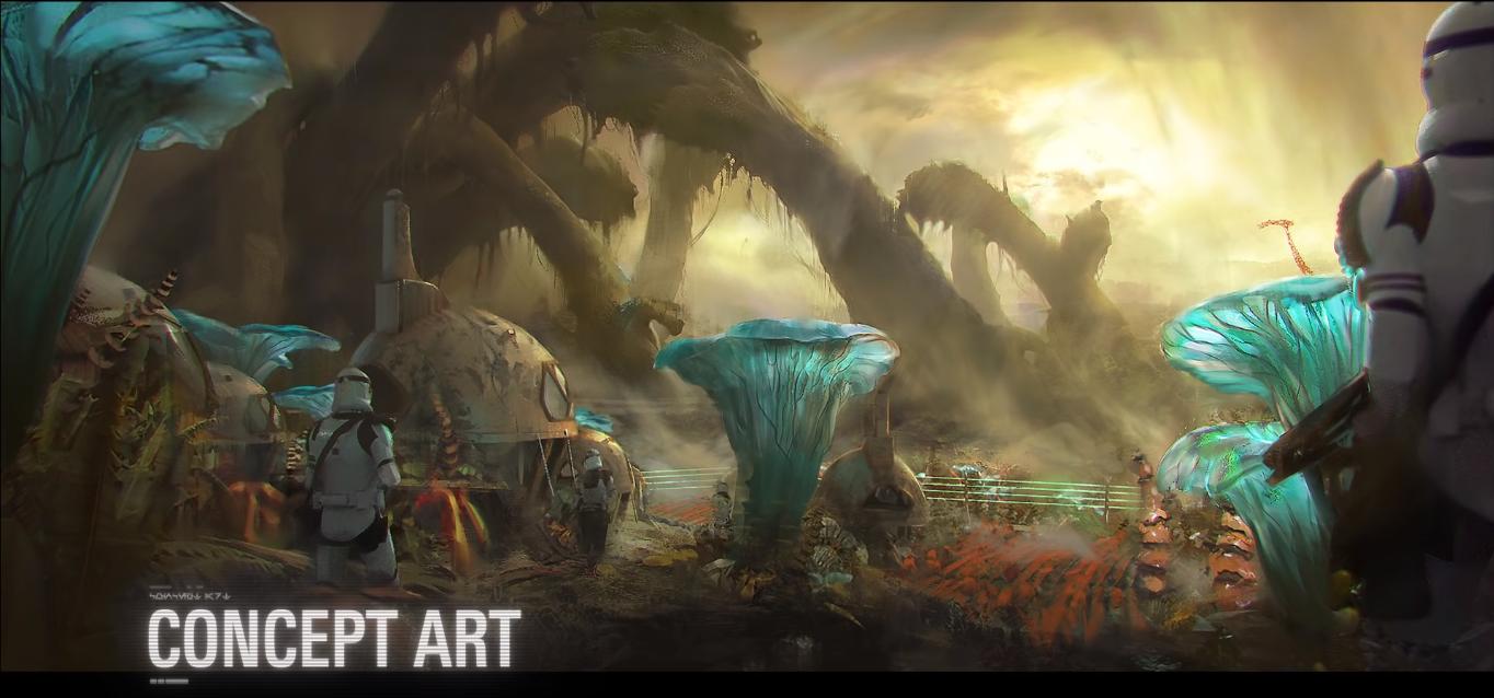 concept art nuovo pianeta felucia update futuri battlefront II