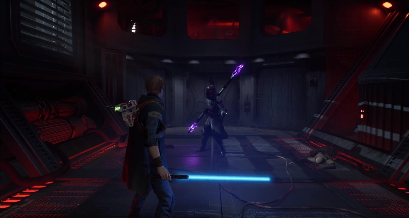 cal affronta nemico trailer jedi: fallen order gameplay