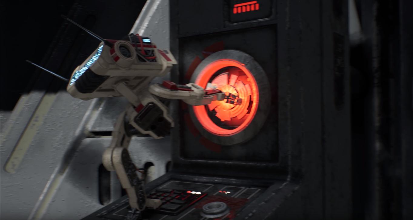 droide bd-1 apre porta jedi: fallen order gameplay