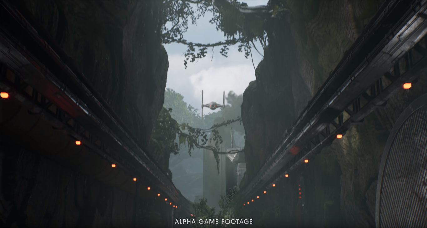 frame gameplay jedi: fallen order versione alpha