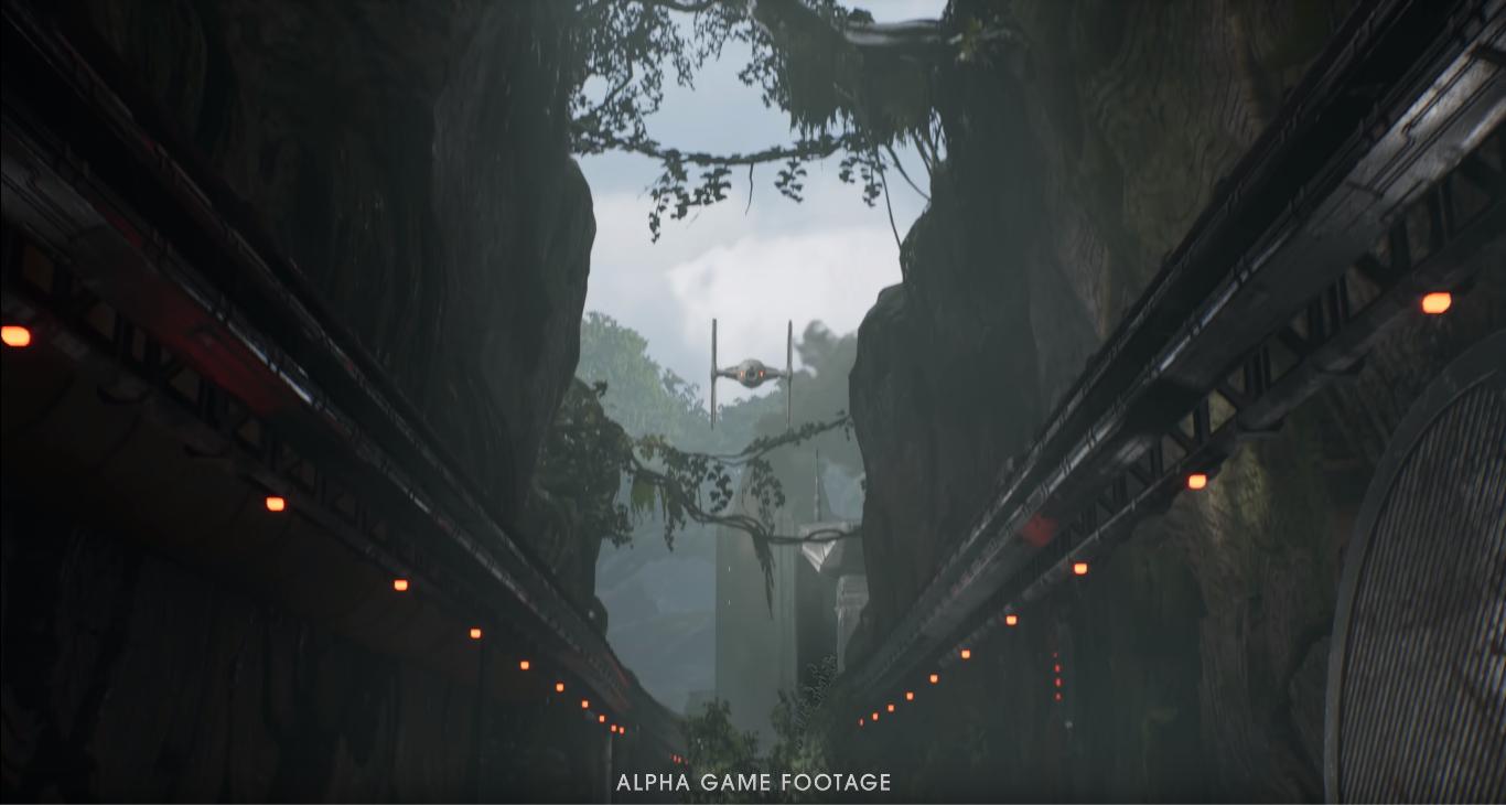 frame gameplay jedi: fallen order versione alpha