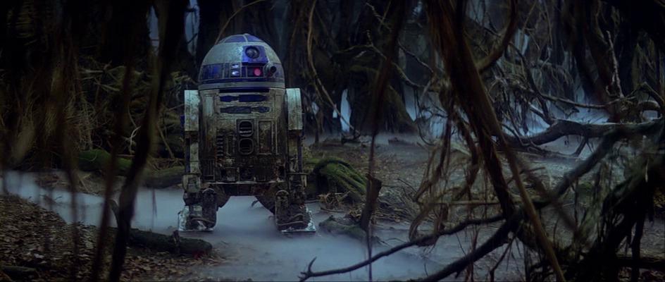 R2D2 in azione nell'Impero Colpisce ancora