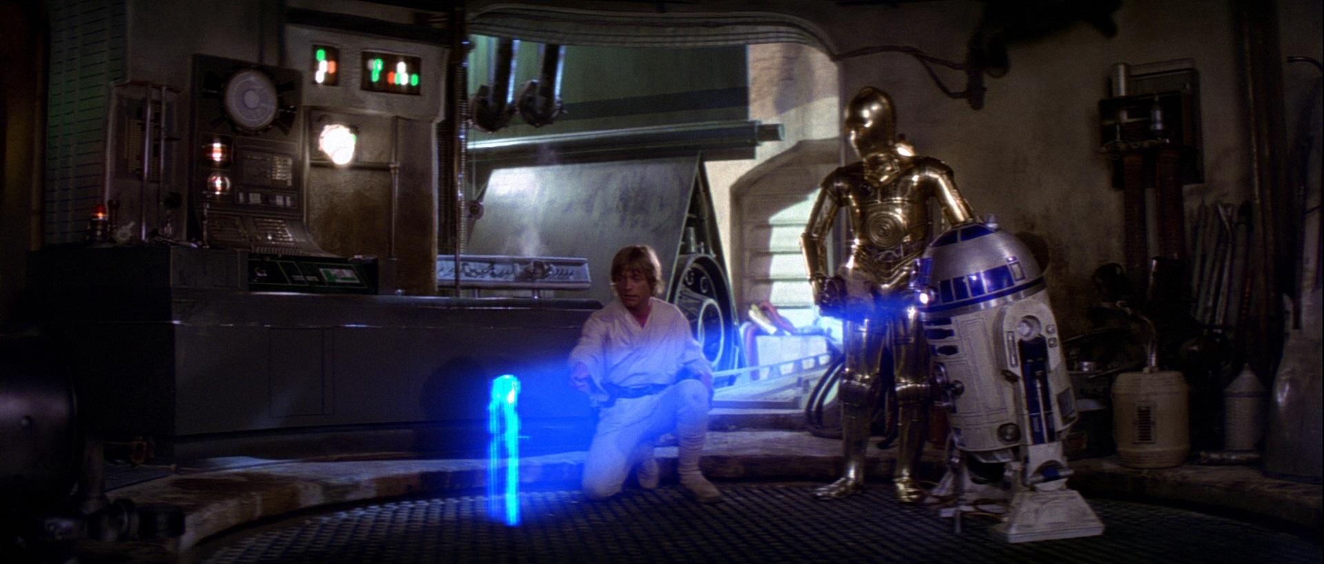 R2-D2 in Episodio IV, Una nuova speranza