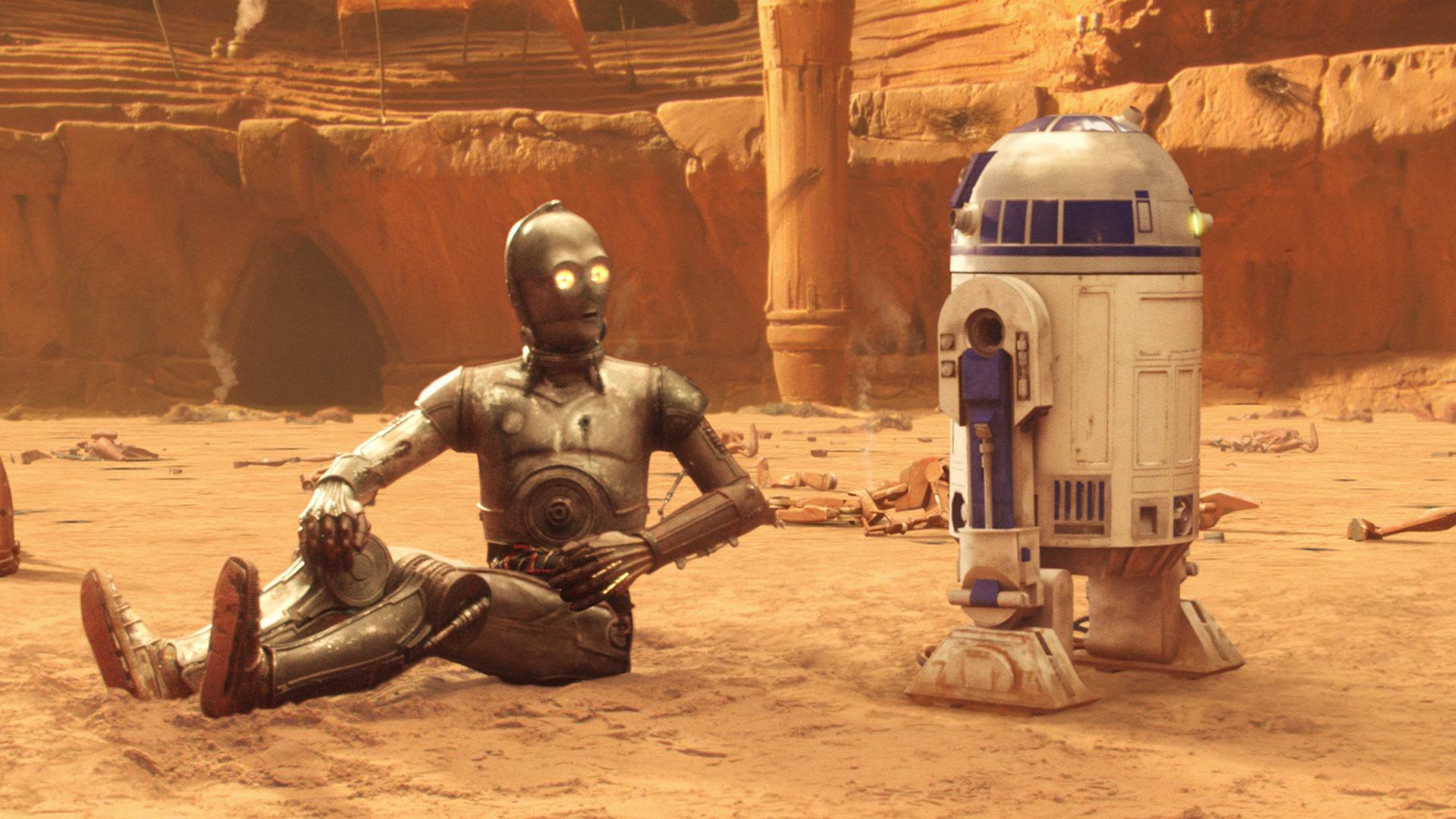 R2-D2 nell'Attacco dei Cloni