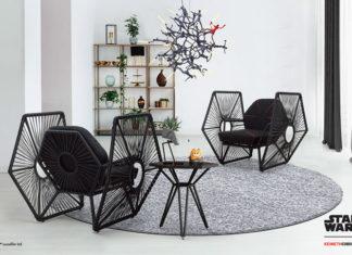 collezione di mobili a tema star wars
